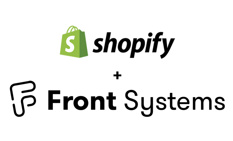 Shopify Front Systems logo blk3